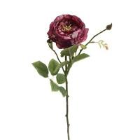 Trandafir decorativ rosu 66 cm