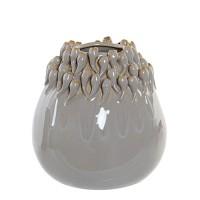 Vaza Grey din ceramica gri 18 cm