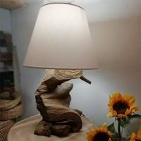 Veioza Wooden din lemn 65 cm