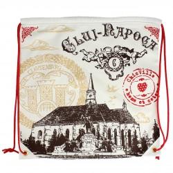 Rucsac cu imprimeu Biserica Sf. Mihail Cluj-Napoca