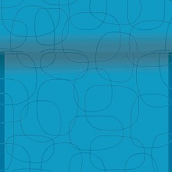 Napron in rola din hartie albastra cu cercuri 120x40 cm