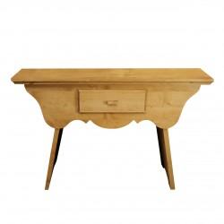 Comoda Modis din lemn natur 120x55x82 cm