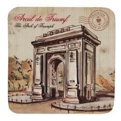 Suport Arcul de Triumf din carton presat