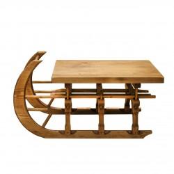 Masa Sanie din lemn natur 94x57x50 cm