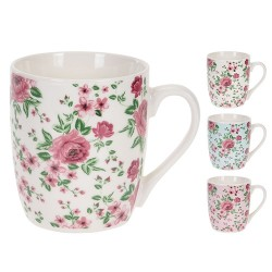 Cana Roses din ceramica 8 cm - 3 modele