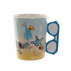 Cana Summer din ceramica 14 cm - 2 modele