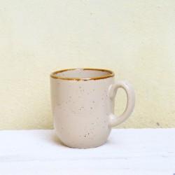 Cana Gardena din ceramica crem 9 cm