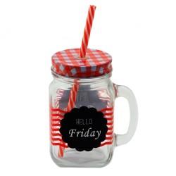 Cana pentru limonada Friday 13 cm