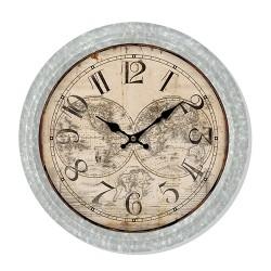 Ceas de perete Map din metal 37 cm