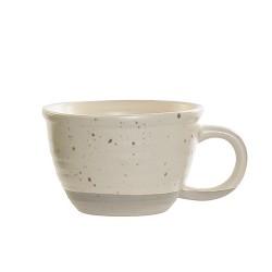 Ceasca Daily din ceramica crem 6 cm