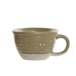 Ceasca Daily din ceramica verde 6 cm