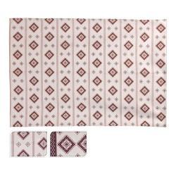 Covor Caro din bumbac rosu 120x180 cm - modele diverse