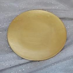 Farfurie rotunda Golden 22 cm