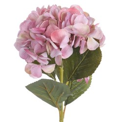 Floare decorativa Hortensie roz 65 cm