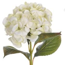 Floare decorativa Hortensie verde 65 cm