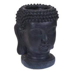 Ghiveci Buddha negru 25x35 cm