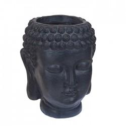 Ghiveci Buddha negru 35x44 cm