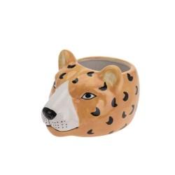 Ghiveci Leopard din ceramica 12 cm