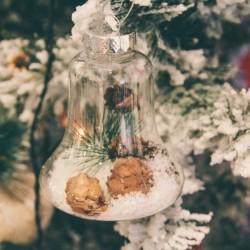 Glob Christmas Bell 10 cm - 4 modele
