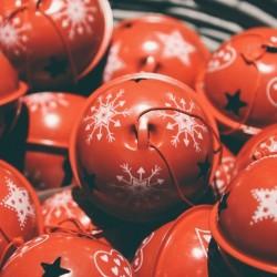 Glob Christmas Bell din metal - 3 modele