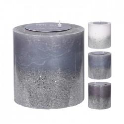 Lumanare Glitter 14 cm - diverse modele