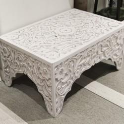 Masuta Kashmir din lemn 60x90x45 cm