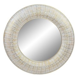 Oglinda Gold din metal 100 cm