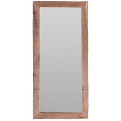 Oglinda Simplicity cu rama din lemn 100x70 cm