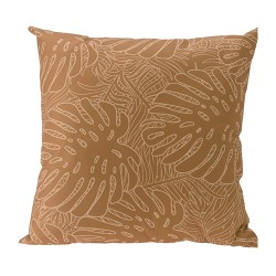 Perna Leaves galbena 45x45 cm