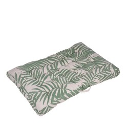 Perna pentru scaun Tropical verde 80x120 cm