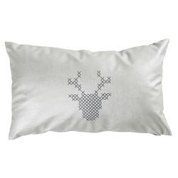 Perna Reindeer argintie 50x30 cm