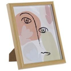 Rama foto Simple Chic din lemn 22x27 cm