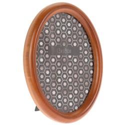 Rama foto ovala Wooden din lemn maro 15x20 cm