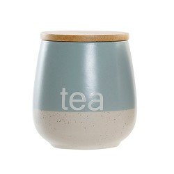 Recipient pentru ceai Italy din ceramica turcoaz 600 ml