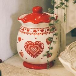 Recipient Heart din ceramica 19 cm - 2 modele