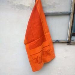 Runner Country din bumbac portocaliu 60x180 cm
