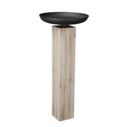 Sfesnic Antiq din lemn si metal 50x111 cm