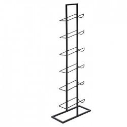 Suport Classic din metal pentru sticle 27x22x84 cm