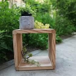 Suport Square din lemn natur 30x30 cm