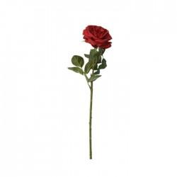 Trandafir rosu decorativ 63 cm