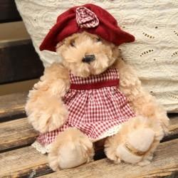 Urs de plus Chanel cu rochita 34 cm