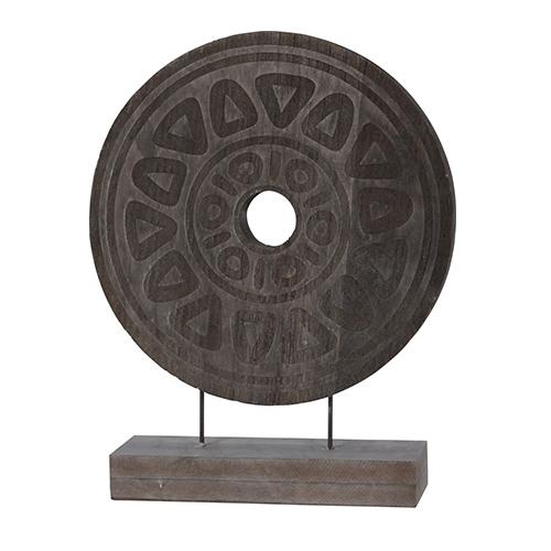Deco lemn Dark Mayan 38 cm chicville 2021