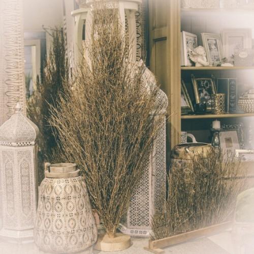 Deco Bamboo Golden din lemn 130 cm chicville 2021
