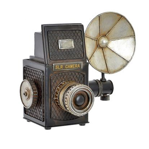 Decoratiune camera foto vintage 24 cm - modele diverse chicville 2021