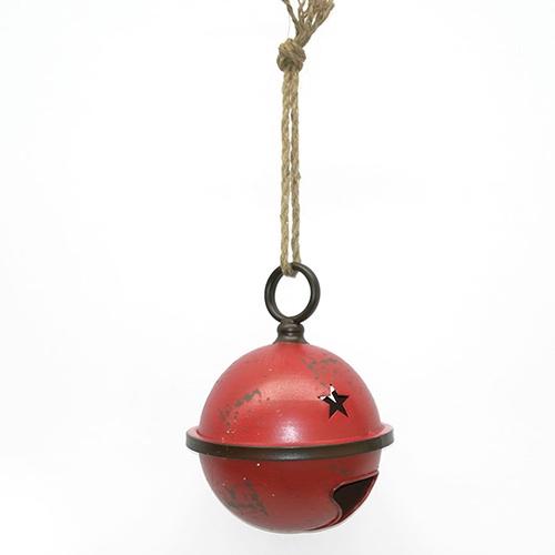 Decoratiune in forma de clopotel din metal 15 cm chicville 2021
