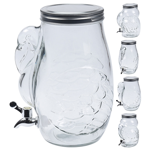 Dispenser din sticla 22x27 cm - modele diverse chicville 2021