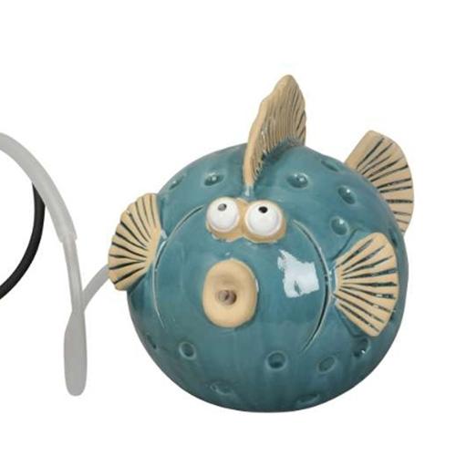 Fantana Fish din ceramica 25.5x18 cm chicville 2021