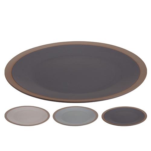 Farfurie intinsa Matte din ceramica 27 cm - modele diverse chicville 2021