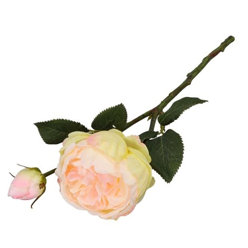 Floare decorativa Trandafir 38 cm chicville 2021