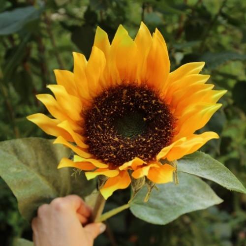 Floare decorativa Sunflower 86 cm chicville 2021